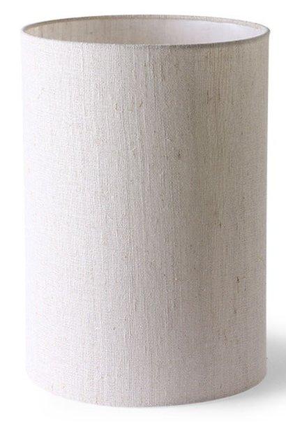 Lampenkap cilinder lamp shade natural linen ø24,5