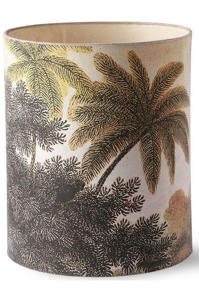 Lampenkap printed jungle lamp shade l