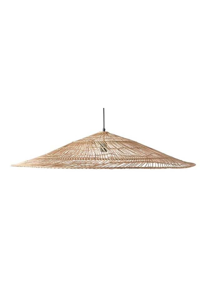 Hanglamp wicker pendant lamp triangle natural xl