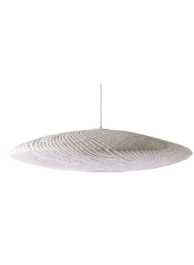 Hanglamp bamboo/paper pendant ufo lamp