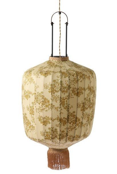 Hanglamp Doris for hkliving: traditional lantern vintage print