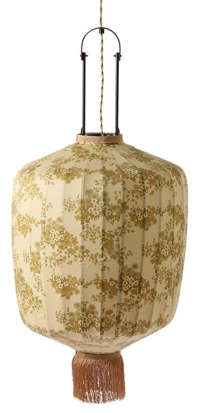 Hanglamp Doris for hkliving: traditional lantern vintage print-1