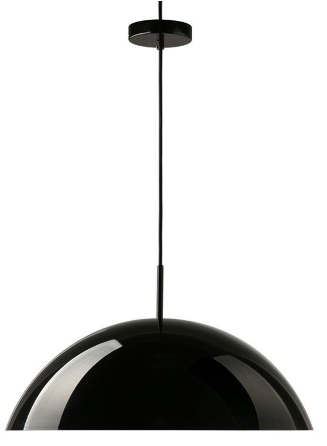 Hanglamp acrylic cupola pendant lamp black