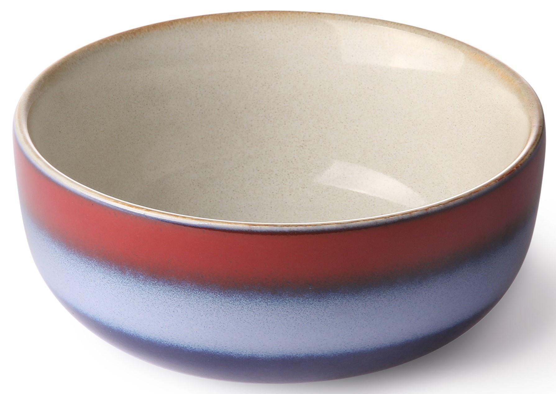 Kom ceramic 70's tapas bowl: air-1