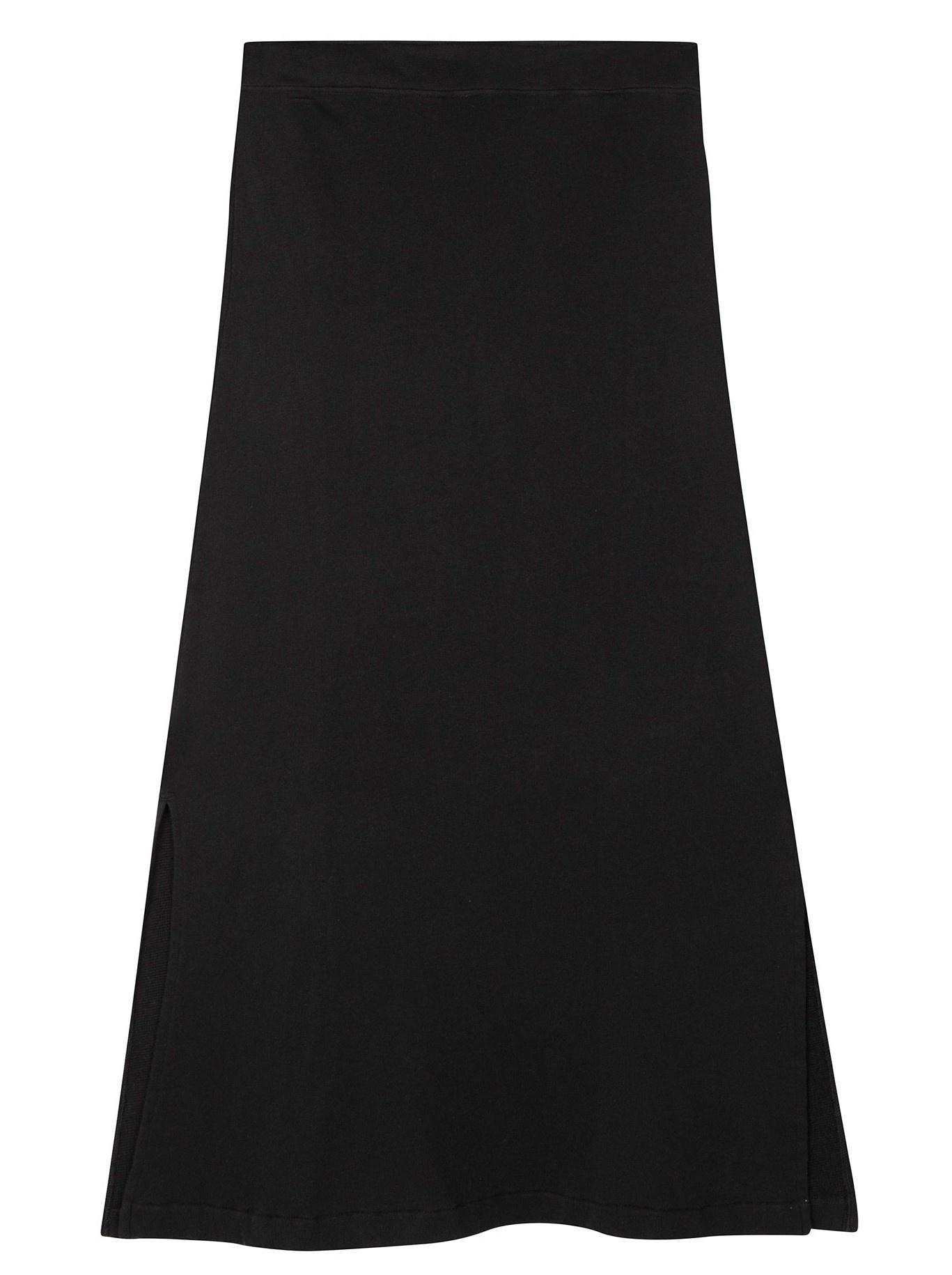 Rok belted long skirt black-6