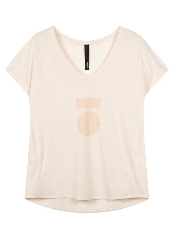 T-shirt the tee medal white sand