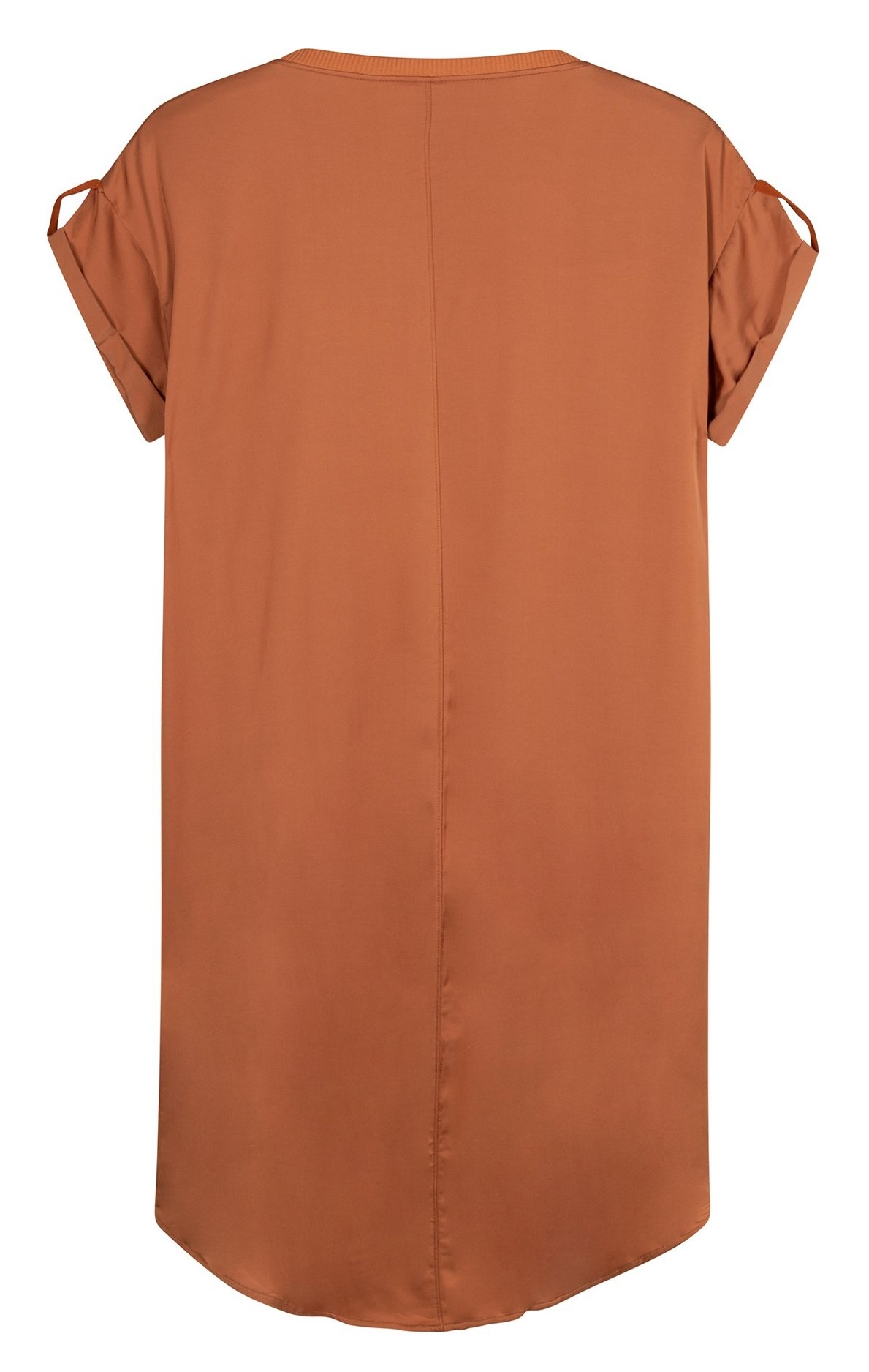 Jurk dress copper brown-4