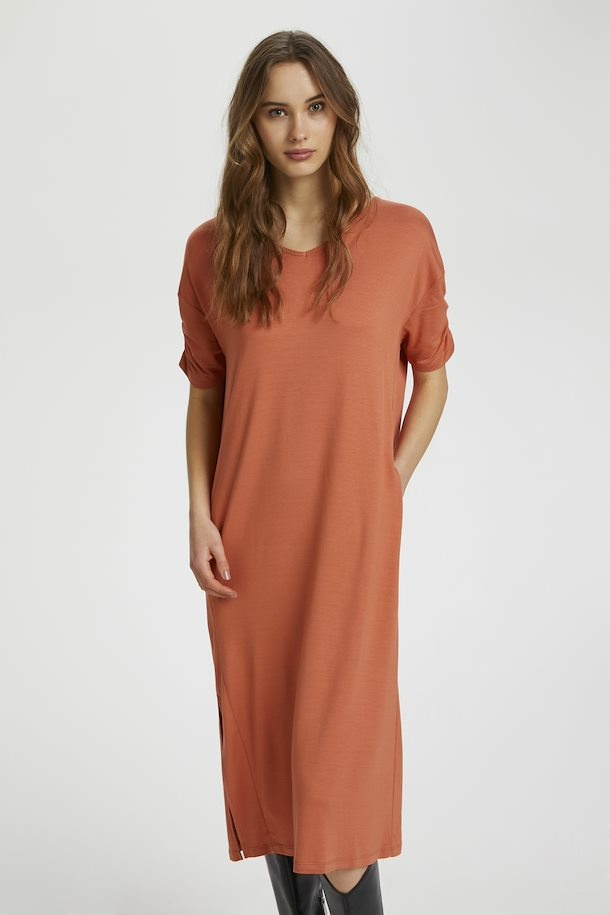Jurk LivaCR long dress aragon-5