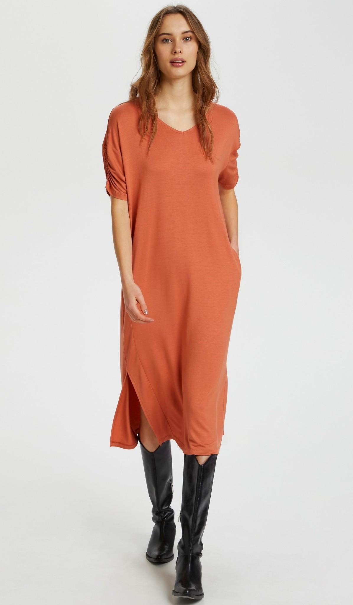 Jurk LivaCR long dress aragon-8