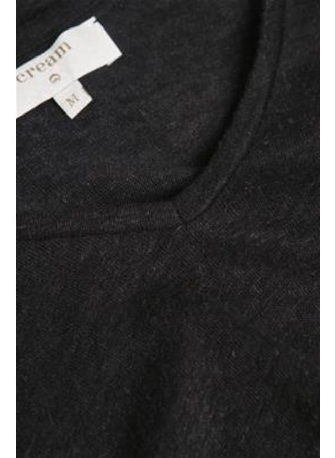 Top PittaCR t-shirt pitch black