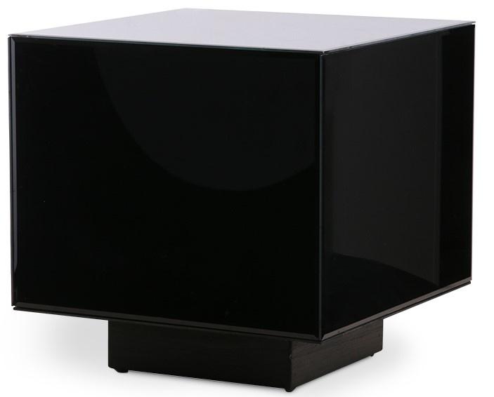 Tafel mirror block black 40x40cm-3