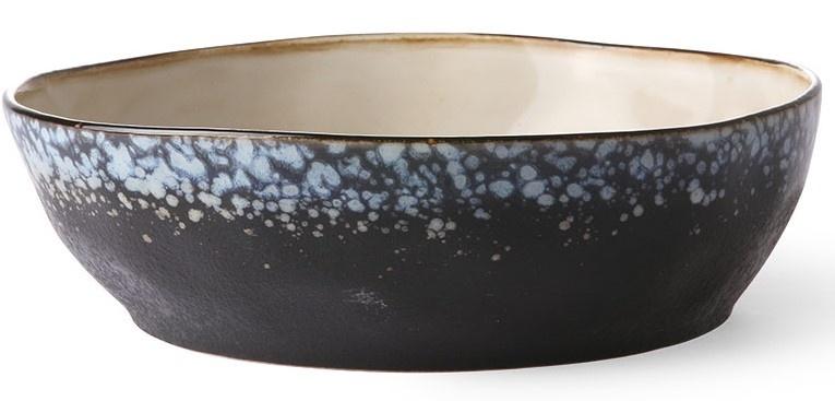 Kom ceramic 70's pasta bowl galaxy (set of 2)-1