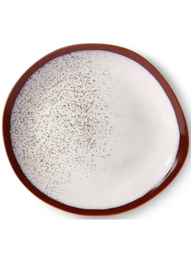 Bord ceramic dinner plate 70's frost (set of 2)