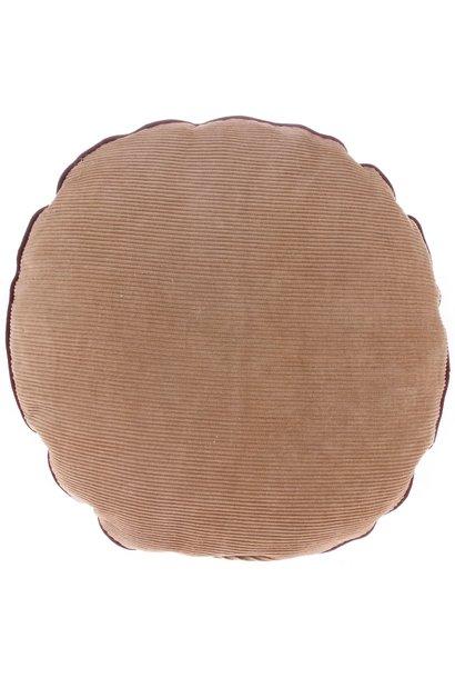 Kussen corduroy cushion round (ø40)