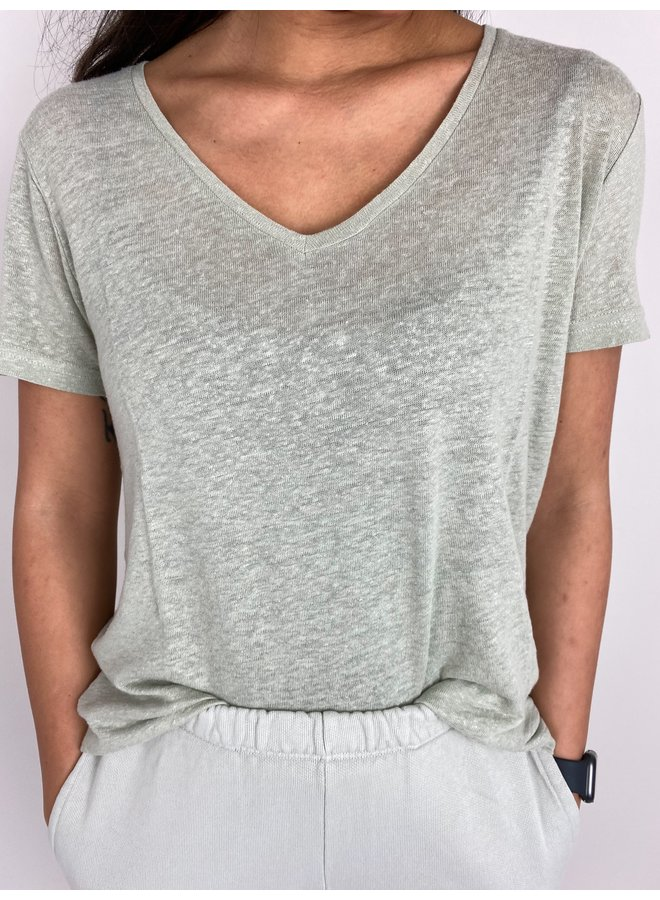 Top PittaCR t-shirt desert sage