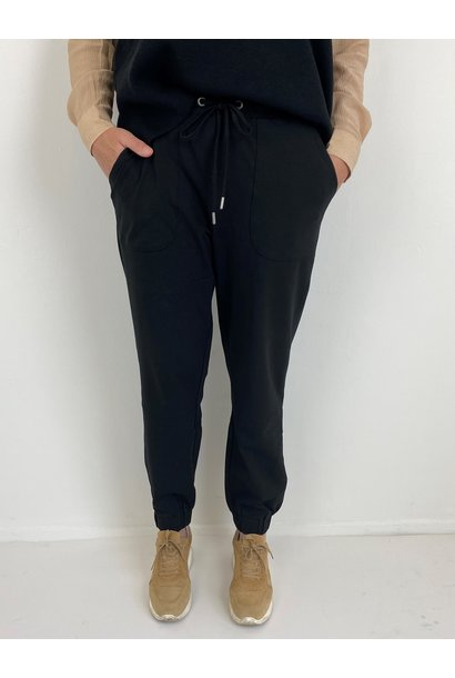 Broek KAdana Linda pants black deep