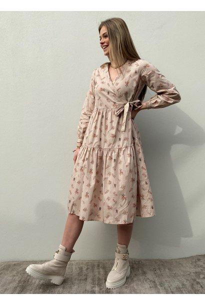 Jurk Yascutie midi jurk wrapp dress