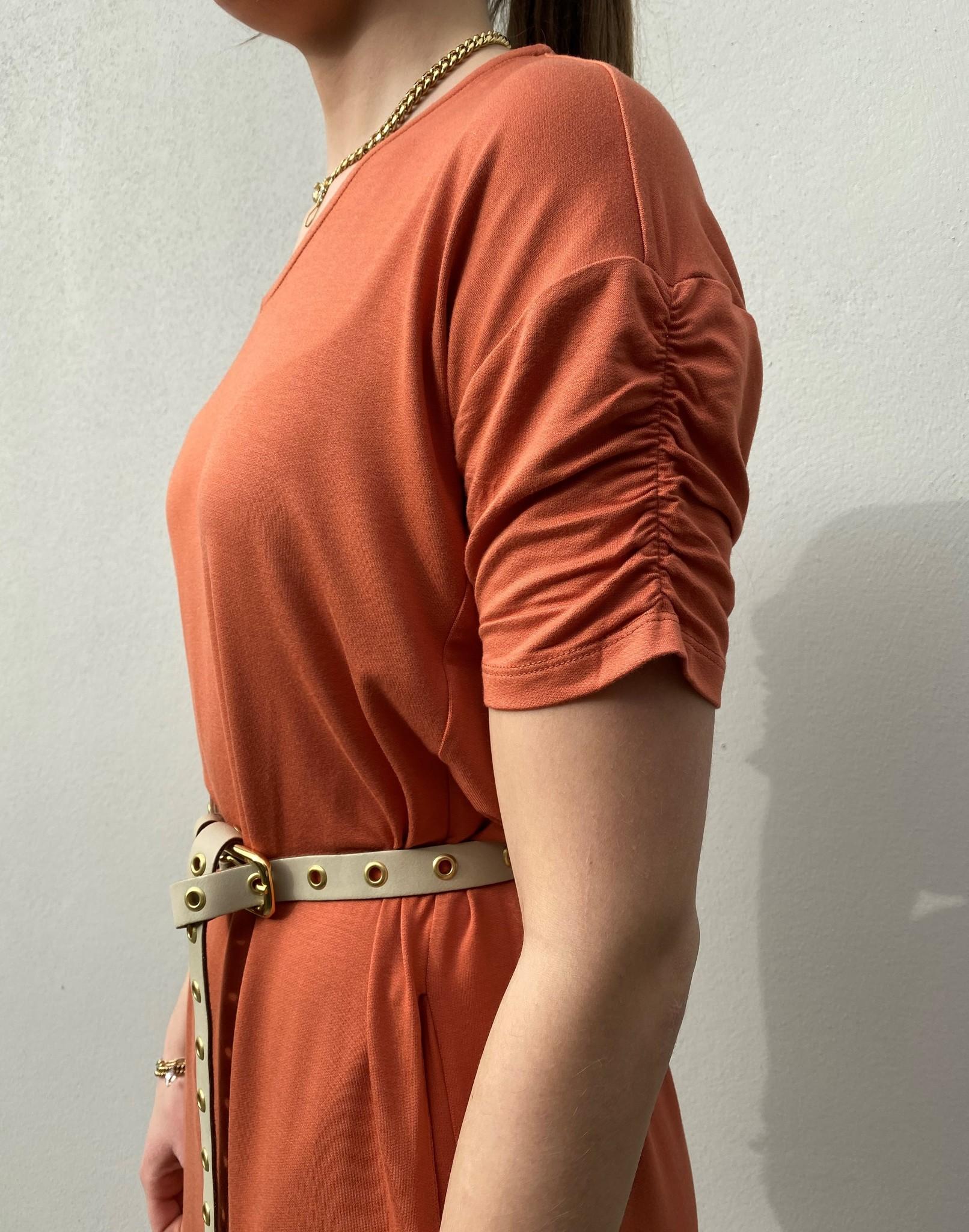 Jurk LivaCR long dress aragon-3
