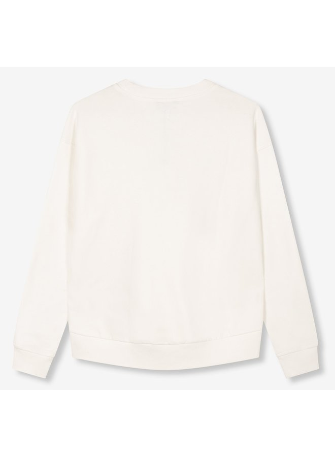 Sweater Ladies knitted alix the label sweater soft white