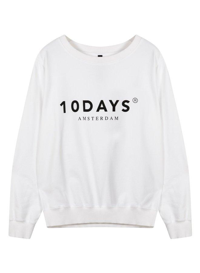 Trui  The sweater white NOOS