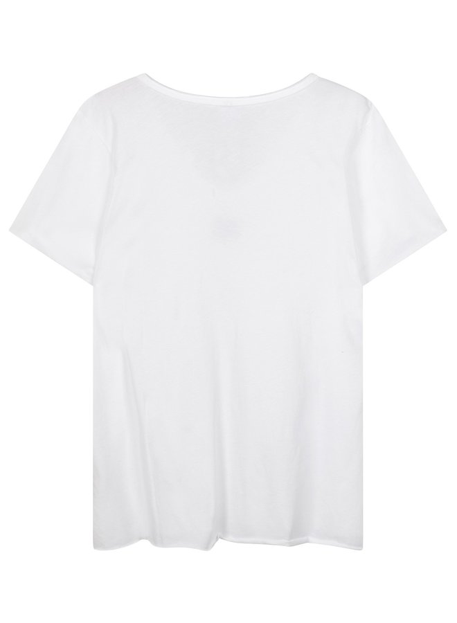 Top The v-neck tee white NOOS