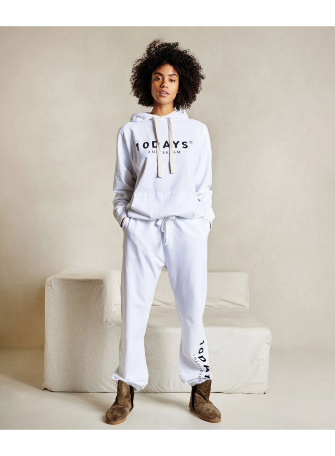 Broek The loose jogger white NOOS