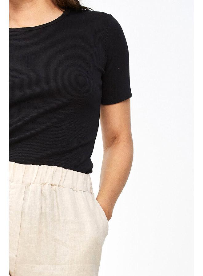 T-shirt Jade top organic black