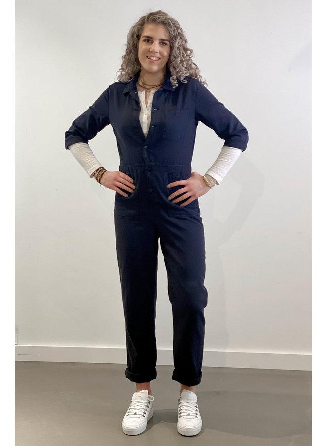 Jumpsuit Emma suit vintage blue