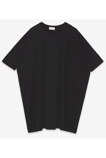 Jurk Abito oversized mini dress nero