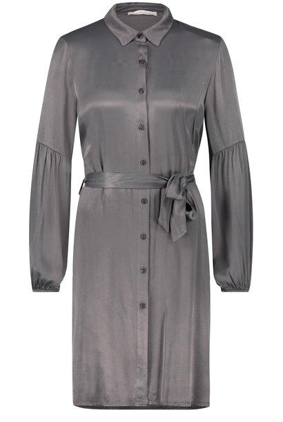 Jurk Reena mini dress antracite