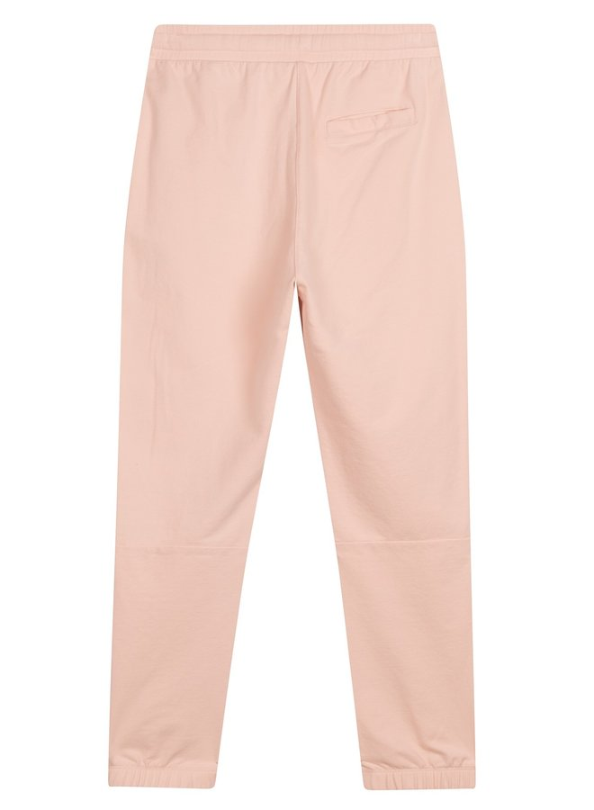 Broek cropped jogger faded soft pink