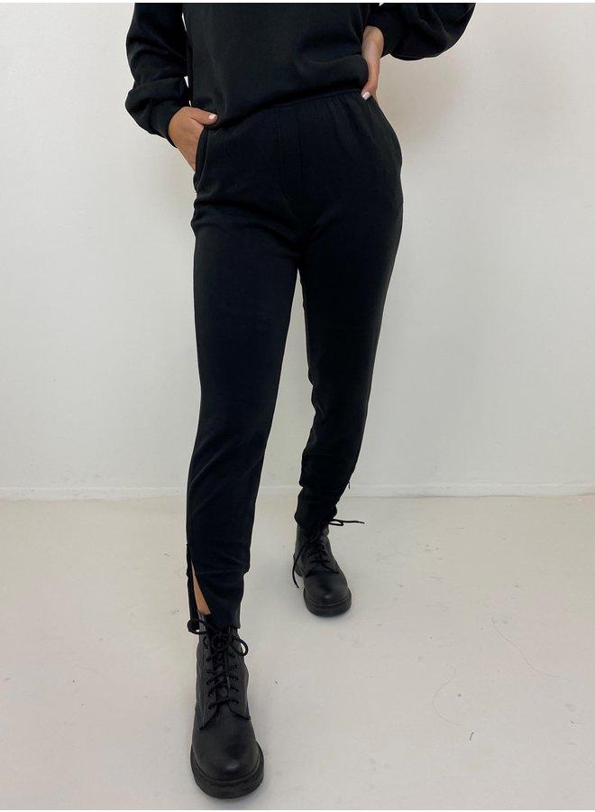 Broek The sweat pant black