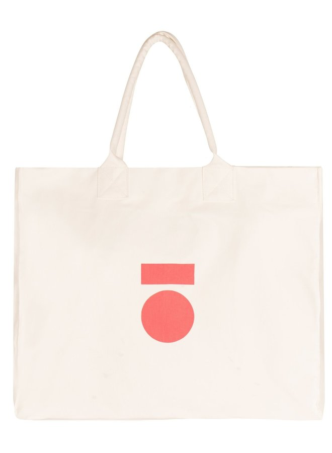 Tas canvas bag medal ecru