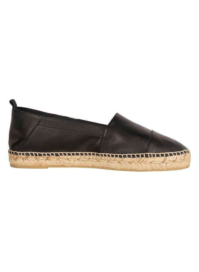 Schoenen espadrilles two stripe black