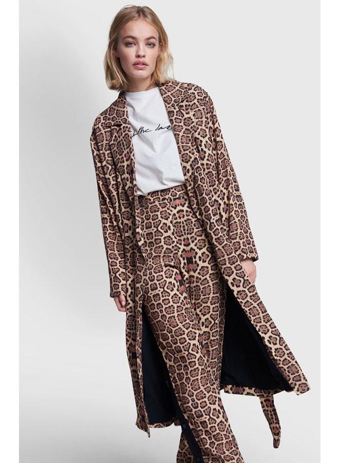 Kimono ladies woven jaguar flow kimono animal