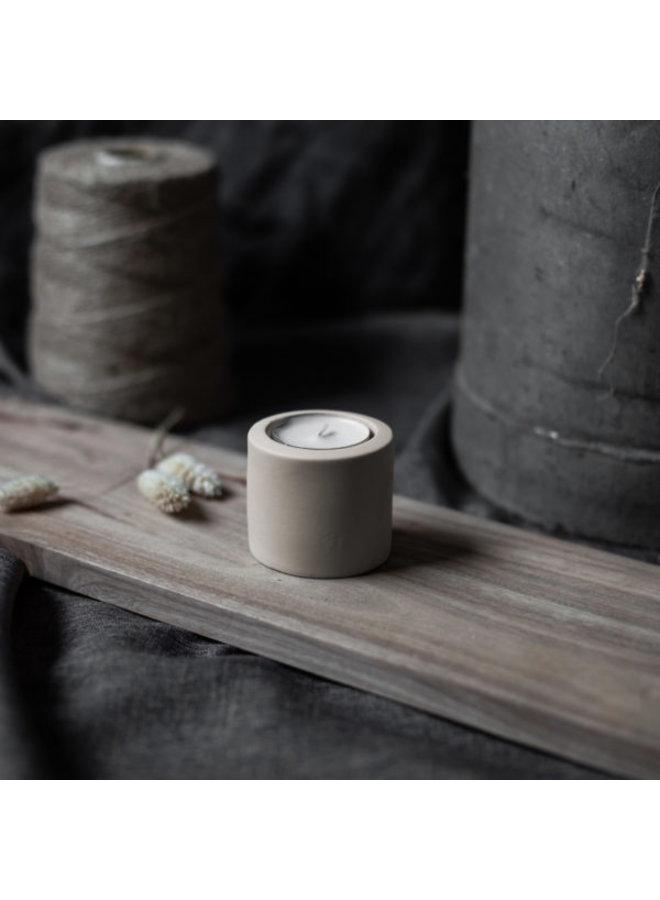 Kaarsenhouder Lekvall S tealight  beige