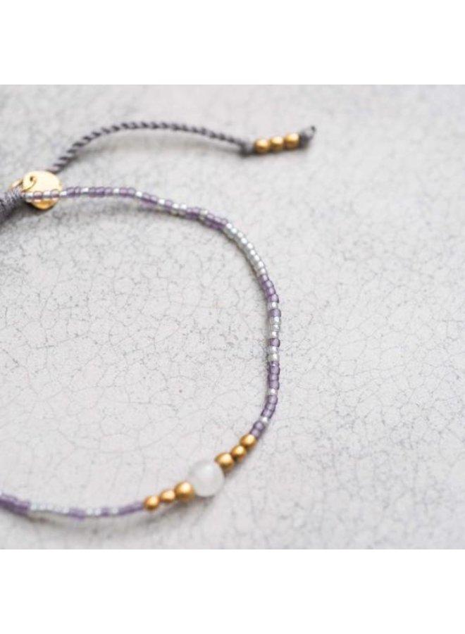 Armband Iris Moonstone Gold Bracelet