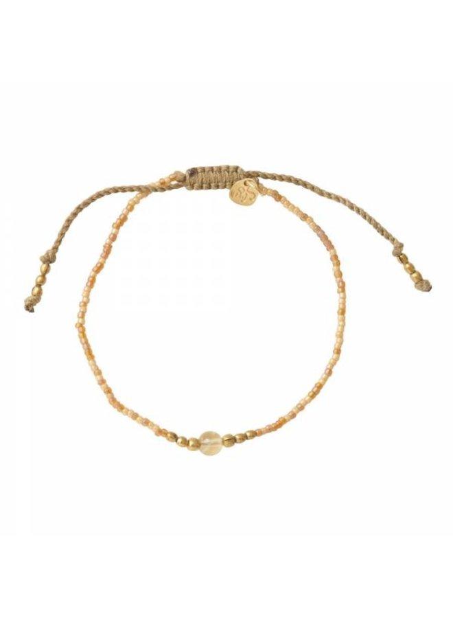 Armband Iris Citrine Gold Bracelet