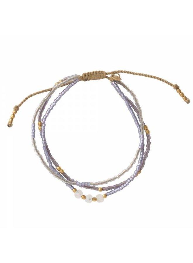 Armband Gentle Moonstone Gold Bracelet