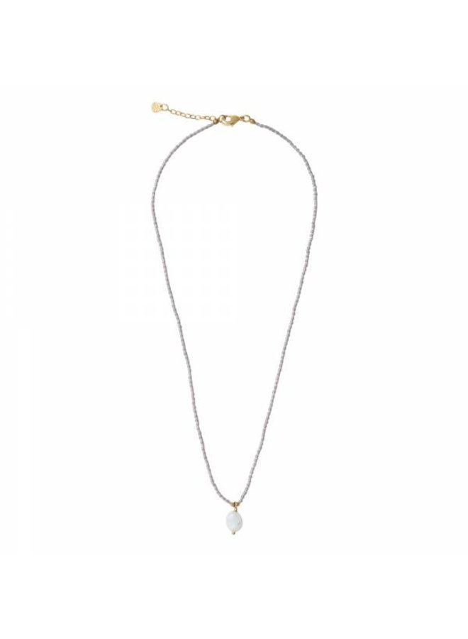 Ketting Magical Moonstone Gold Necklace