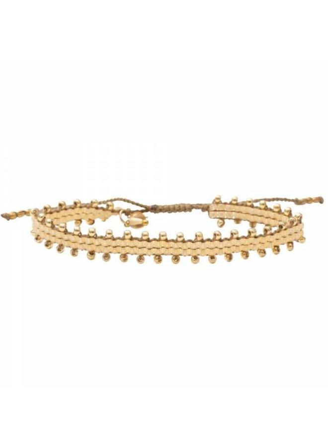 Armband Happiness Citrine Gold Bracelet