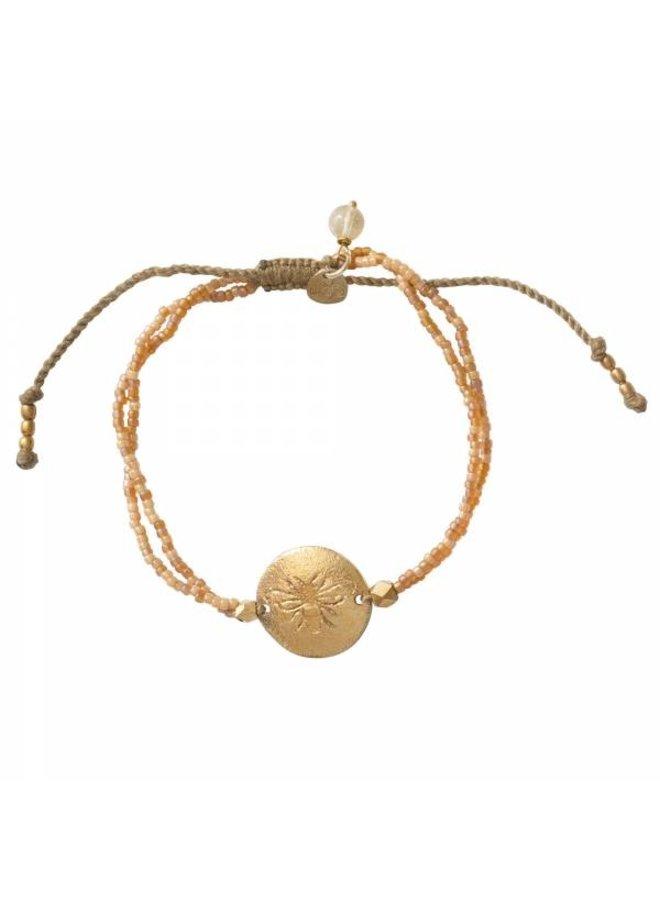 Armband Daydream Citrine Gold Bracelet