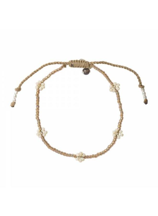 Armband Sunshine Smokey Quartz Silver Bracelet