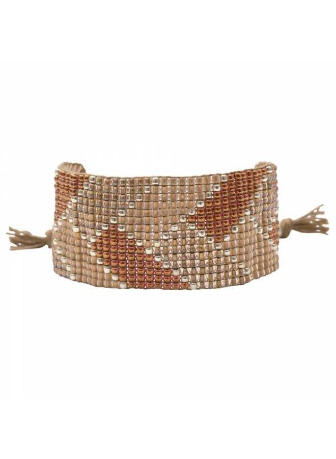 Armband Willow Smokey Quartz Silver Bracelet