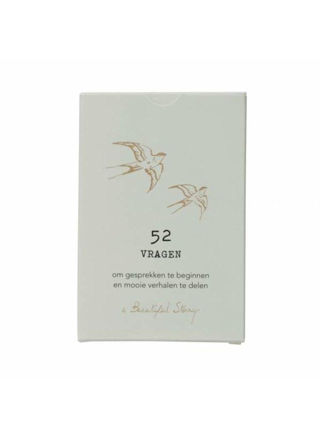 Kaartspel 52 vragen A Beautiful Story