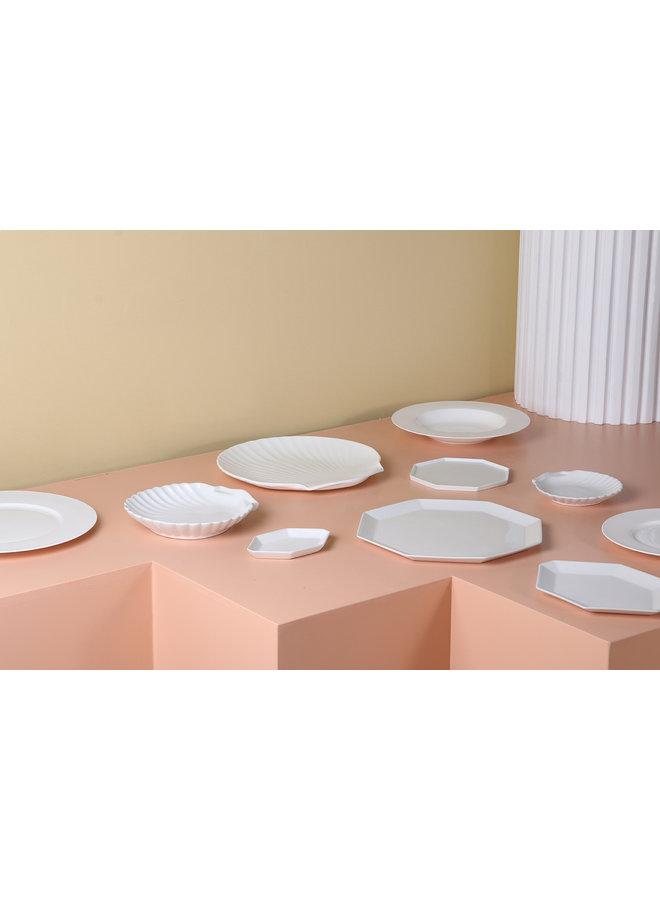 Bord athena ceramics bone china soup plate