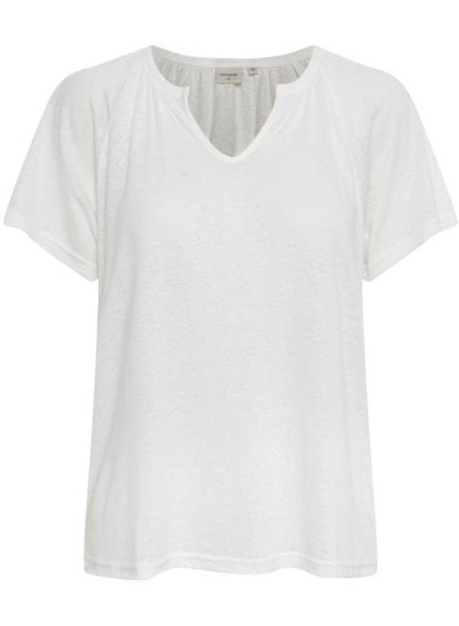 Top CRLuna t-shirt snow white