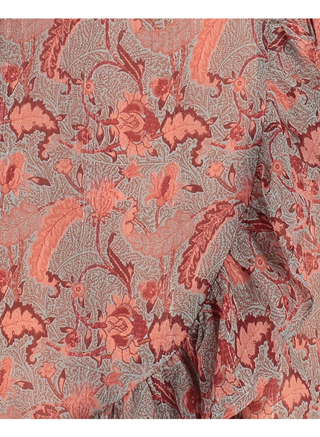 Jurk Rosy mini dress turquoise