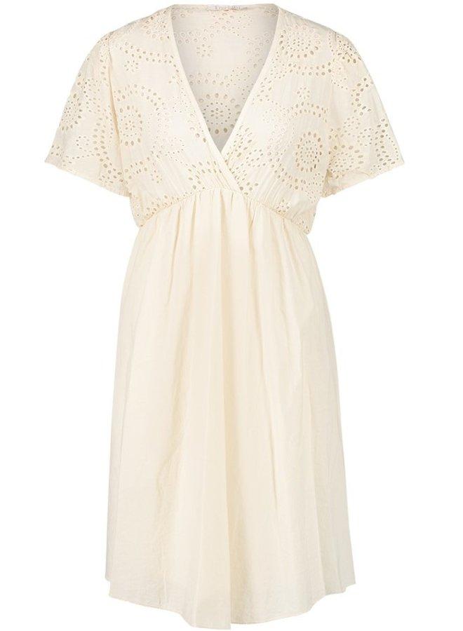 Jurk Ty mini dress off white