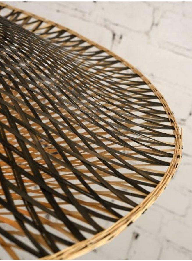 Hanglamp Kalimantan bamboo flat M